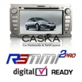 New Ford Focus - Double Din Car DVD CD Player GPS iPod Bluetooth USB SD - RSMMI 2