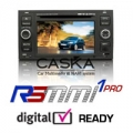 RSMMI 1 Double Din DVD Sat Nav GPS for Ford Focus, Fusion, Fiesta, Galaxy and Transit