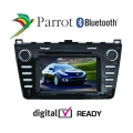 MZ6 MMI - Mazda 6 Parrot Bluetooth, DVD Sat Nav Media Player