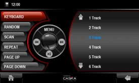 Caska iPod Menu