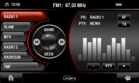 Caska Radio Menu