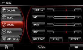 Caska Sound Setting Cont..
