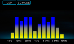 EQ Mode - 3 types of Spectrums Available