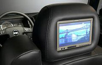 Caska Optional Extraa Headrest Monitors