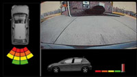 Reverse Camera & Parking Sensor Display